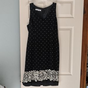 Evan Picone Black Dress Size 10